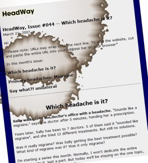 HeadWay on headache types