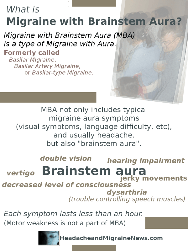 Migraine with Brainstem Aura