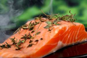 Salmon - a great source of Omega 3