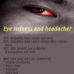 Eye Redness and Headache