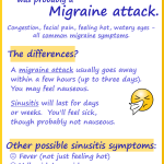 Sinus Headache – Probably Migraine.