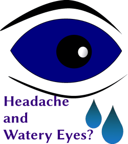 Headache and Watery Eyes?