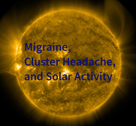 Solar Flares, Migraine and Cluster Headache
