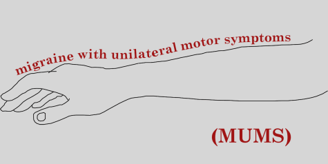 MUMS - migraine with unilateral motor symptoms