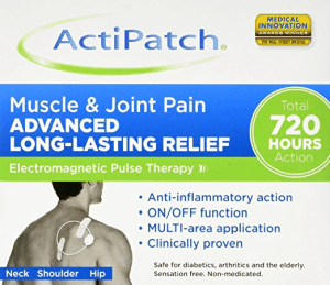 ActiPatch for muscle and joint pain