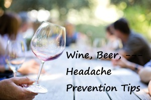 Wine, Beer, and Headache Tips